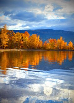 Russia, Siberia. Autumn Reflections