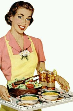 Lunch is Served! ~ ca. 1950s