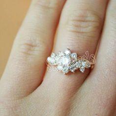 0.47ct ROUND DIAMOND 14k YELLOW  GOLD /ANNIVERSARY / ENGAGEMENT  RING  #AntiqueDiamondJewels #DiamondRing #Engagement