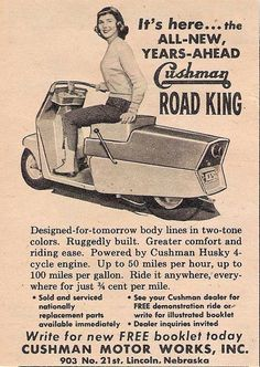 Cushman ROAD KING