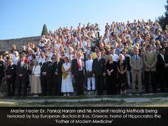 Dr. Pankaj Naram and his Ancient Healing Methods being honored by top European Doctors in Kos, Greece.jpg