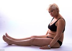 Weight loss: The Advertising Standards Authority has banned a slimming advert which showed before (above) and after photos of Loose Women's Denise Welch - because her 2st weight loss was too quick