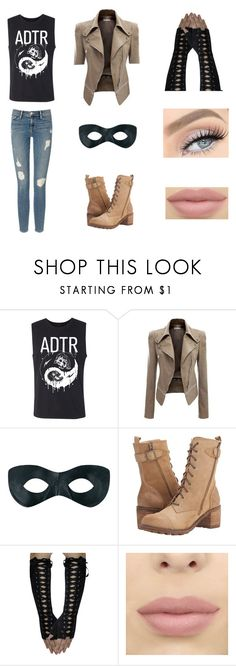 """""""Silver Wolf #30"""" by amykershaw ❤ liked on Polyvore featuring Frame, Rocket Dog and GET LOST"""