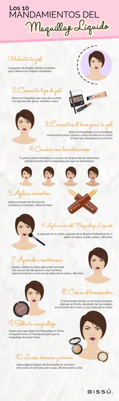 Las bases de un buen maquillaje se deben a la correcta aplicación del Maquillaje Líquido, checa estos errores para que no los pases por alto.