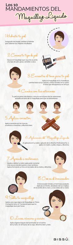 Las bases de un buen maquillaje se deben a la correcta aplicación del Maquillaje…