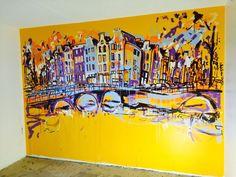 Kamer 715 #arthotel #amsterdam #design #hotelroom #unique
