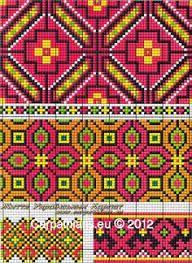 Afbeeldingsresultaat voor patroon mochila tas rood
