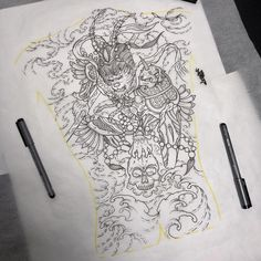 Ready for a back piece, refer to somethinf that clients provide 🤔 Small Back Tattoos, Tattoos For Women Small, Tattoo Designs For Women, Asian Tattoos, Trendy Tattoos, Tattoos For Guys, Tattoo Sleeve Designs, Sleeve Tattoos, Singapore Tattoo