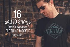 Check out 16 Men's Apparel Mockups by ZedProMedia on Creative Market: http://crtv.mk/gj4q