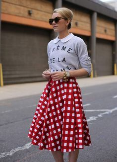 5 Ways To Wear Gingham Without Looking Twee