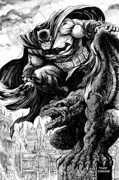 The Dark Knight by Tyler Kirkham