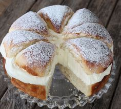 This Swedish Cream Bun Cake Recipe is a show stopper and you won't be able to wait to make it. We've included a video tutorial for you too.