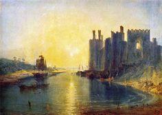 Caernarvon Castle (ca. 1798) Turner
