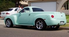 ssr in truckin' mag - Chevy SSR Forum Old Trucks, Chevy Trucks, Chevy Hhr, Chevy Models, Classic Pickup Trucks, Pt Cruiser, America's Finest, Car Colors, Hood Ornaments