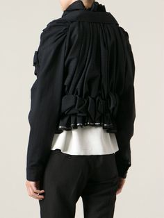 Comme Des Garçons Vintage Raw Ruffled Jacket - House Of Liza - Farfetch.com