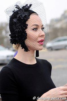 Ulyana Sergeenko #millinery #judithm #hats