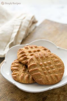 Peanut Butter Cookies Recipe on Yummly