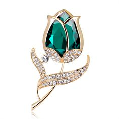 New Vintage Fashion Rhinestone Rose Brooch Crystal Flower Pin Scarf Buckle Bride Brooch Women Clothing Accessories Jewelry Jewelry Sets, Jewelry Accessories, Women Jewelry, Crystal Flower, Crystal Rhinestone, Cheap Scarves, Women's Brooches, Women Brands, Brooch Pin