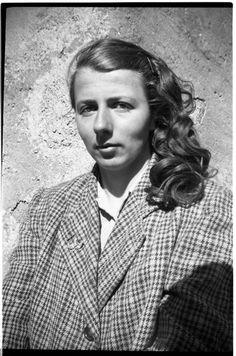 Vivian Maier, Self Portrait, Tweed Coat, France - 1949 on ArtStack #vivian-maier #art