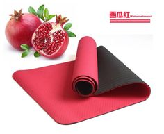 Best TPE foam yoga mats with watermelon color  for sale from yogaers.com