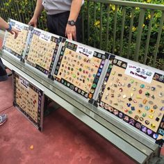 Have you traded at the Magic Kingdom Pin Trading Bench? Learn more about this hidden gem at the Magic Kingdom, Walt Disney World Resort.