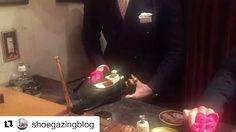This is how the winner of the shoe shining championship works his magic ✨🎥: @shoegazingblog🏆: @yuya.hasegawa.brift.h