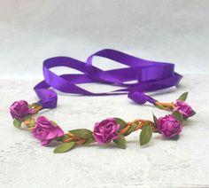 Magnifique Headband Bijou de tête Fleurs : Accessoires coiffure par ysabell