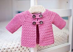 Ravelry: Buttoned Jacket pattern by Mon Petit Violon
