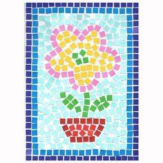 knutselen mozaiek met papier - Google zoeken
