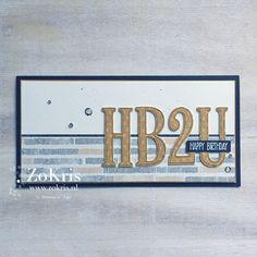 ZoKris: Large Letters Framelits Dies