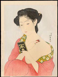 Japan Painting - Kitagawa Utamaro (ohmigallery.com)