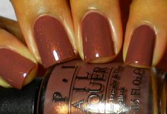 Enamel Girl: OPI Wooden Shoe Like To Know?
