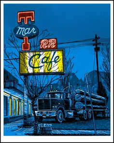 Super Punch: Twin Peaks and more new pop culture prints by Tim Doyle