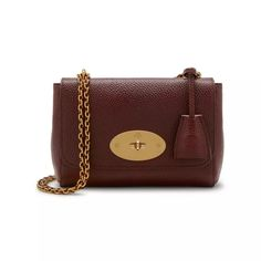 defd4bc3e8 Lily. Oxblood Natural Grain Leather 1. Wishlistbags · Buy Mulberry Lily  Small Leather ...