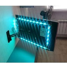 Led strip lighting ideas projects home 66 ideas Usb Led Light Strip, Led Strip, Strip Lighting, Tv Lighting, Lighting Ideas, Office Lighting, Deco Gamer, Bedroom Setup, Ikea Boys Bedroom