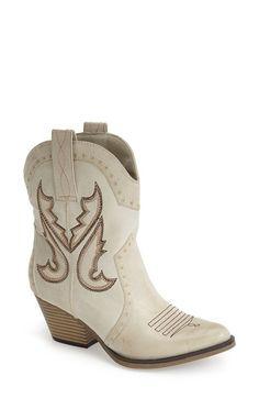 MIA 'Horseback' Western Bootie (Women) | Nordstrom
