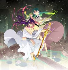 Sinbad & Ja'far (Sinja) - Magi: The Labyrinth of Magic