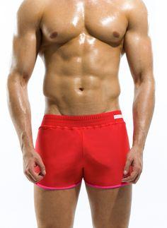 Szorty kąpielowe Modus Vivendi Double Short czerwone
