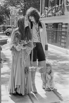 Chris Squire, his wife Nikki and stepdaughter Carmen