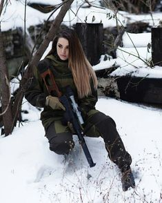 Russian women  vk.com/russianarmynews