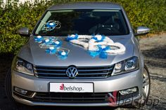 Nádherné svatební dekorace na auta na www.belshop.cz