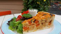 Kürbisquiche Sandwiches, Cake, Desserts, Food, Pumpkin Quiche, Easy Meals, Tailgate Desserts, Deserts, Kuchen