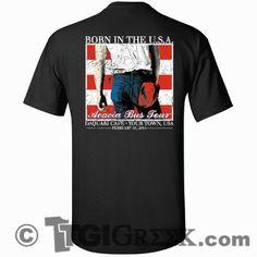 TGI Greek - Acacia - Born In The USA - Greek Tees - Greek T-Shirts #tgigreek #acacia #america #fraternitytshirts #comfortcolors