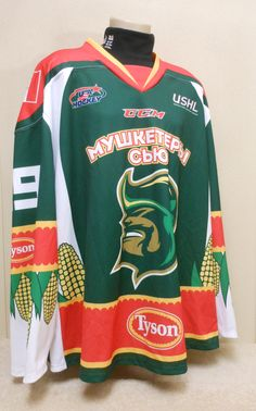 9cce32cbb35 This jersey was worn by Musketeers goaltender Collin Olson during the  during the 2014 Junior Club
