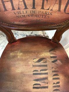 Transforming a Velvet Chair Using Annie Sloan Chalk Paint