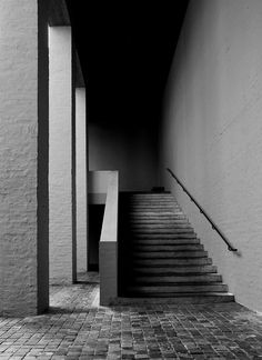 Photograph by Dutch photographer 010labIMarco Jongmans of the staircase in the…