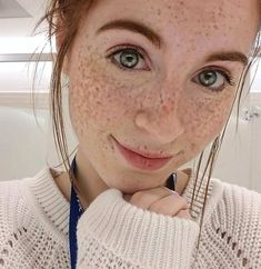 Danielle Boker has burned more eyes than the sun : theCHIVE Beautiful Freckles, Gorgeous Redhead, Beautiful Eyes, Red Freckles, Redheads Freckles, I Love Redheads, Freckle Face, Ginger Girls, Redhead Girl