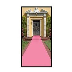 Lichtroze loper 4.5 meter -  Geen rode loper, maar een roze loper! Schitterend voor verjaardagen, bruiloften of andere feesten! Deze roze loper is gemaakt van polyester, een stevige kunststof. Zowel binnen als buiten te gebruiken voor vele themafeesten. Afmeting: 450 x 60cm. | www.feestartikelen.nl