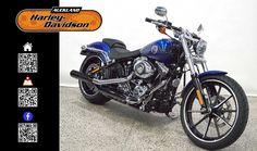 2015 HARLEY-DAVIDSON FXSB in BLUE At Auckland Harley-Davidson,  New Zealand www.amps.co.nz