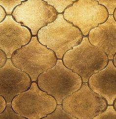 Gold leaf dark wax